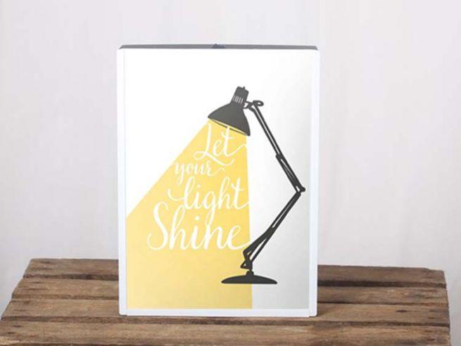 Poster Lightbox A4