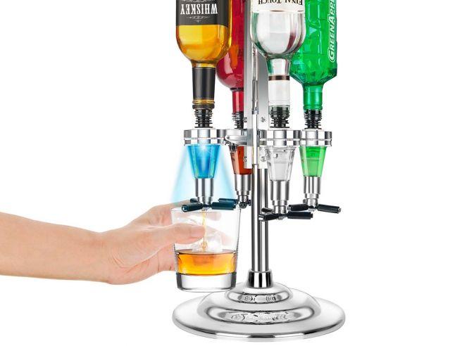 Led Bar Butler 4 Flessen