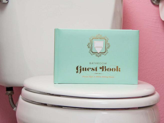 WC Gastenboek (Hardcover)
