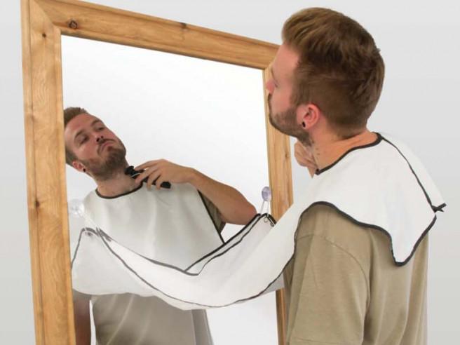 Beard Buddy Bib - Rasur Haarfänger