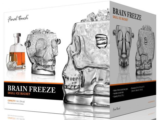 Brainfreeze Schedel ijsemmer