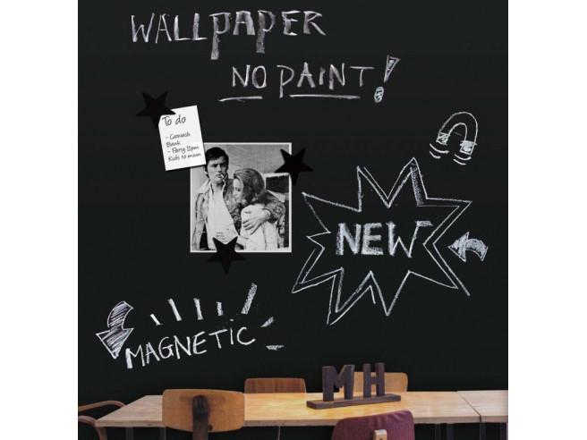 Chalkboard Magnet Wallpaper