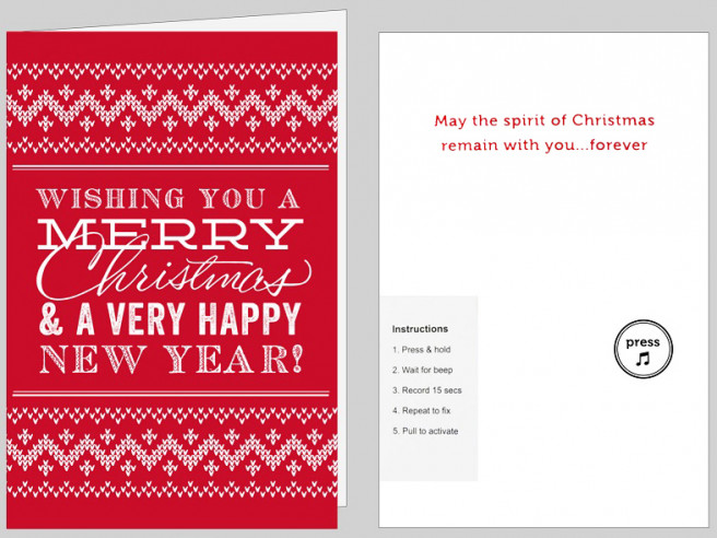 Never-Ending Christmas Card