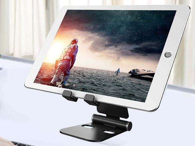 Faltbare Tablet- und Smartphone-Halterung