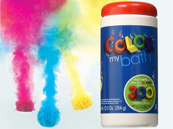 Color My Bath Bruisballen