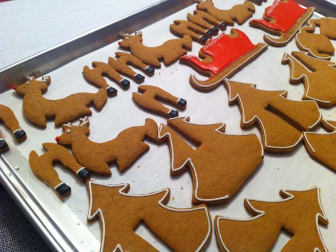 Moules A Biscuits Noël