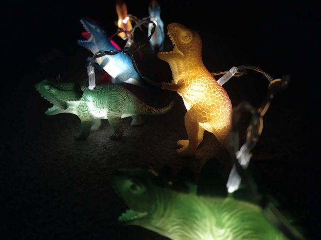 Dinosaurier Lichterkette