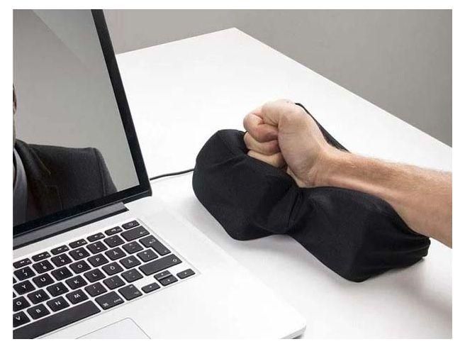 Coussin Touche Enter Anti-Stress USB
