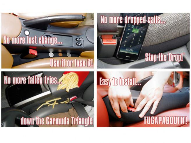 DropStop Autositz Lückenfüller