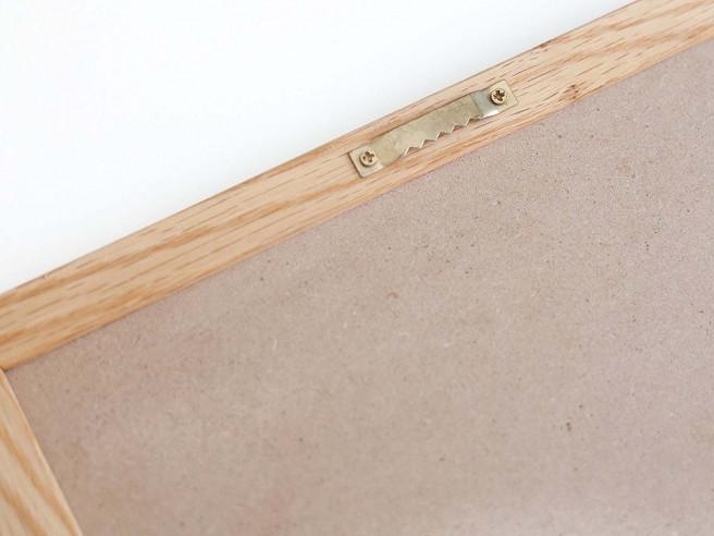 Vilt Letterbord (Houten Kader)