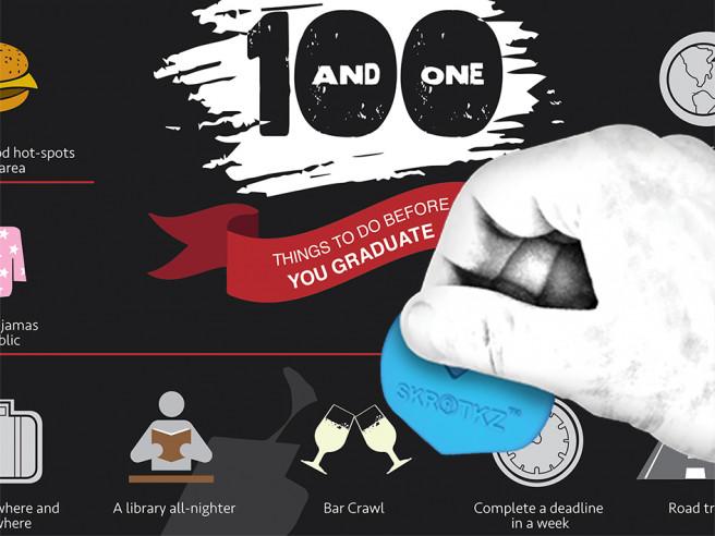 Graduation Scratch Poster