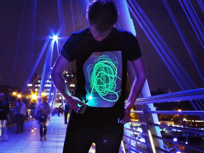 Glow T-shirt Interactif