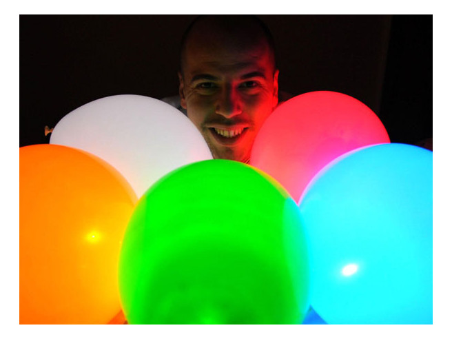 LED Ballon 15 stuks