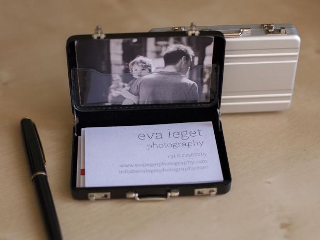 Visitekaartjes Mini Koffer
