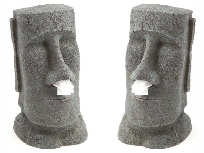 Distributeur de mouchoirs Moai