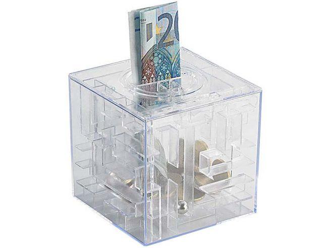 Money Maze - Tirelire Labyrinthe