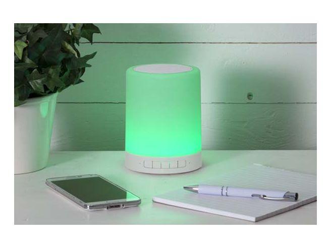 Lampe de table LED Enceinte Bluetooth