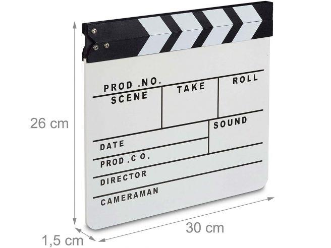 Filmklapper Groot
