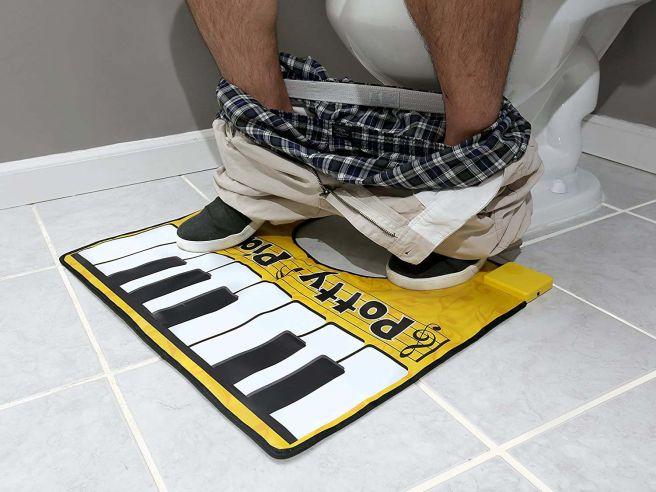 Piano Toilet Mat