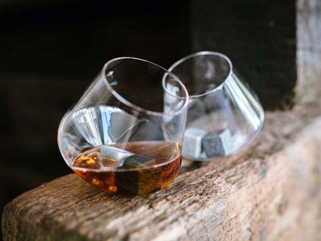 Rocking Whisky Glazen