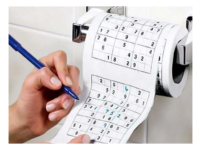Sudoku Toiletpapier