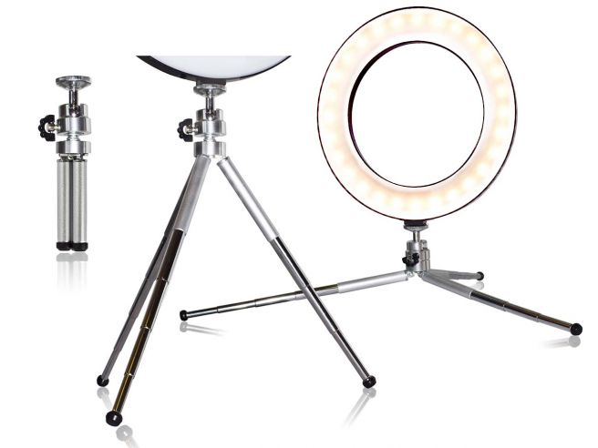 Video Ring Light Tripod