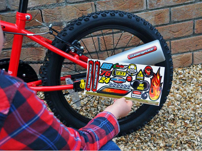 Turbospoke Fahrrad-Auspuff