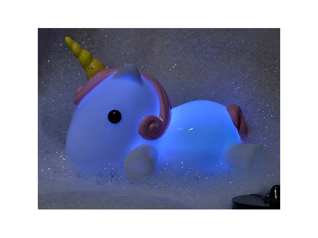 Luminous Unicorn Bath Plug