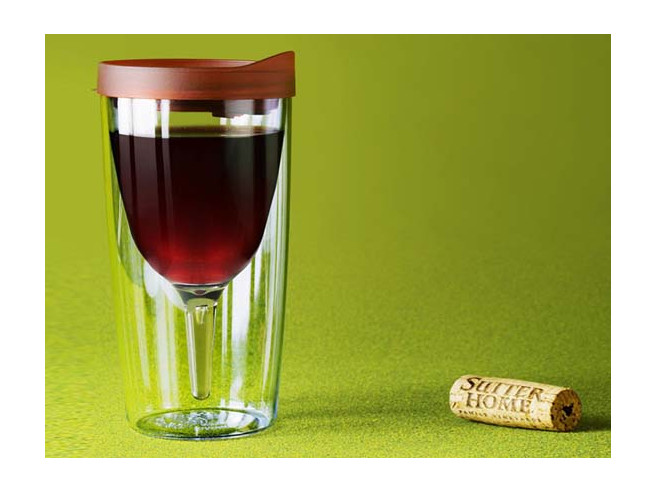 Vino2Go Wein-Trinkbecher