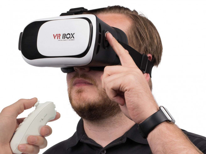 VR Headset + Controller