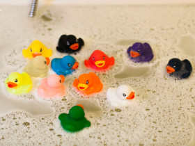 12 Rubber Ducks Princess