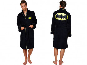 Batman Bathrobe Fleece