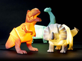 Dinosaurier Lampe
