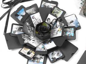DIY Foto Explosion Geschenkbox (Gefaltet)