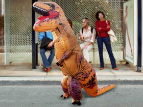 Opblaasbare Kostuum T-Rex
