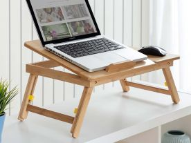 Table Réglable Ordinateur Portable Bambou