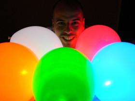 Ballons LED (15 pièces)