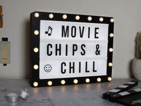 Hollywood Cinema Lightbox
