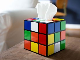 Magic Cube Taschentuch-Spender
