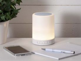 Lampe de table LED Enceinte Bluetooth
