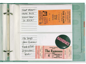 Ticket Stub Organizer