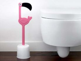 Toilettenbürste Flamingo