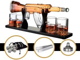 AK-47 Whiskey Decanter Karaf